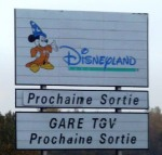 Driving to Disneyland Paris